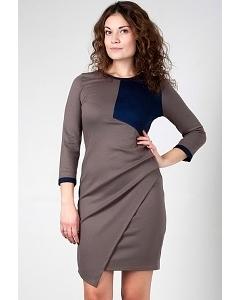 Короткое трикотажное платье Golub П238-2099-2079