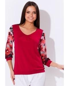Блузка Remix красного цвета
