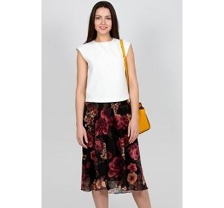Юбка из шифона Emka Fashion 484-amedi