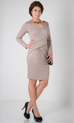 Платье с длинным рукавом Golub П207-2018