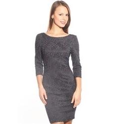 Платье из стрейч-жаккарда