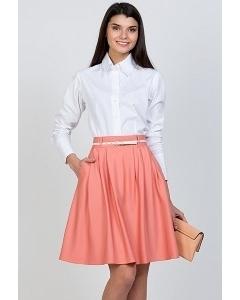 Розовая юбка-колокол Emka Fashion 322-lemisa