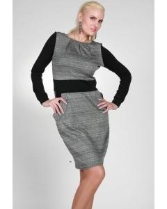 Двухцветное платье от Чертиной & Дюрре | 0358