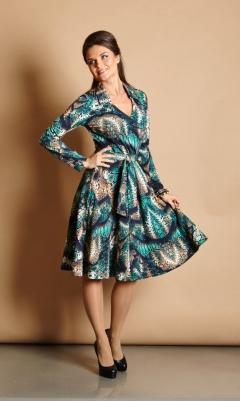 Элегантное платье TopDesign B5 032