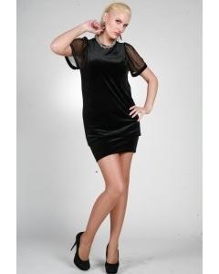 Короткое зауженное платье