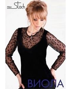 Черная блузка Frau Stoch Виола