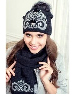 Комплект (шапка и шарф) Landre Сабина