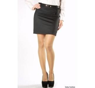 Черная короткая юбка | 332-gloria