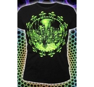 Мужская футболка People of undegroundе (светится в ультрафиолете)