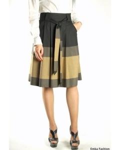Элегантная юбка Emka Fashion с поясом