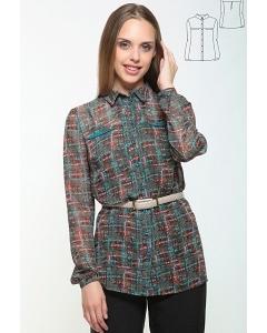 Удлиненная блуза Bravvissimo 162164