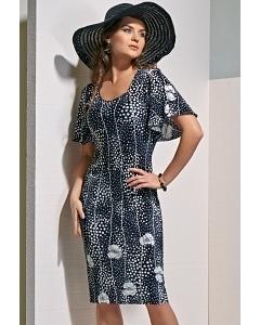 Трикотажное платье TopDesign A4 043