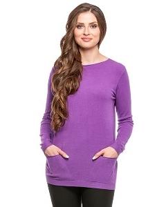 Джемпер фиолетового цвета Conso Wear KWJS160722