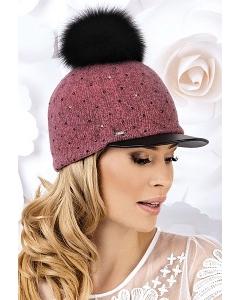 Женская кепка с помпоном Willi Raba
