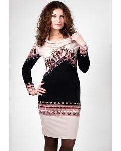 Трикотажное платье Golub П244-1731