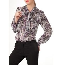 Нарядная блузка из шифона | Б760-1251