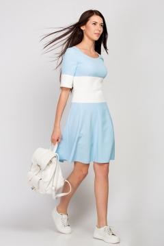 Летнее платье Emka Fashion PL-471/lupine