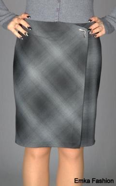 Элегантная и недорогая юбка Emka Fashion | 148-bengi1