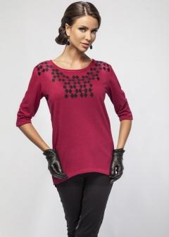 Удлиненная блузка Enny 16013