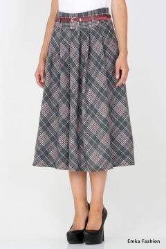 Длинная теплая юбка Emka Fashion 306-rianna