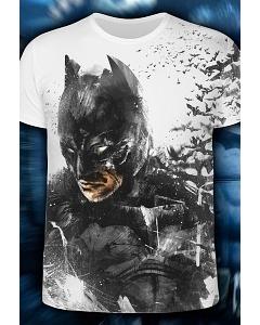 Мужская футболка Black Knight (Светится в темноте и уф.)