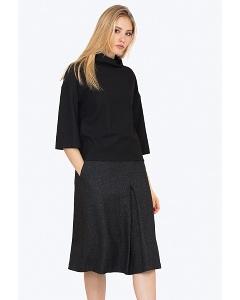 Тёплая шерстяная юбка Emka S731/otrada