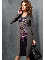 Трикотажное платье TopDesign | B3 086