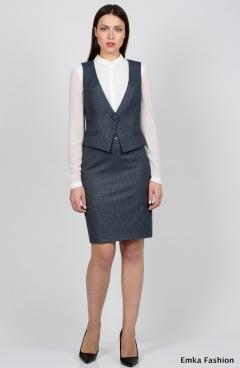 Офисный жилет Emka Fashion GL-002/vanessa