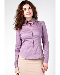 Рубашка лилового цвета Golub Б681-2189