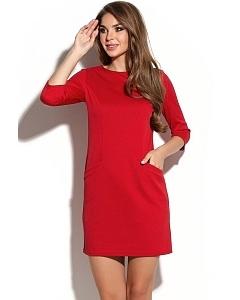 Красное-мини-платье Donna Saggia DSP-235-29t