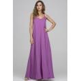 Длинный сарафан пурпурного цвета Donna Saggia DSP-328-28