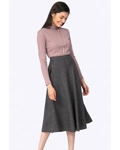 Шерстная юбка-полусолнце Emka S788/protea