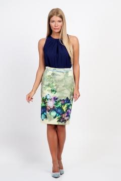 Яркая хлопковая юбка Emka Fashion 202-60/donora