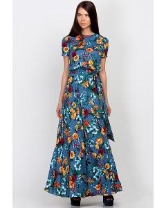 Роскошное платье в пол Emka Fashion PL-459/katoni