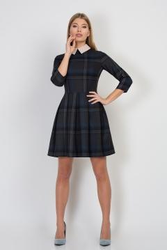Платье с воротничком Emka Fashion PL-413/patty