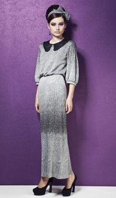 Трикотажное платье Top Design Premium PB3 30