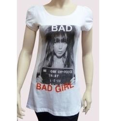 "Женская футболка-туника Fizio ""Bad, bad girl"""