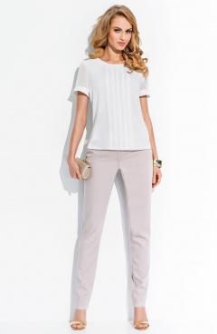Блузка молочного цвета Sunwear R72-3-89