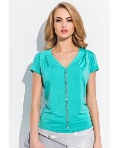 Блузка Sunwear зеленого цвета R11-3