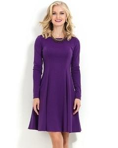 Коктейльное платье фиолетового цвета Donna Saggia DSP-178-30t
