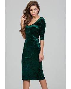 Бархатное платье Donna Saggia DSP-313-44t