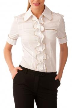 Шикарная офисная блузка   Б809-724-311