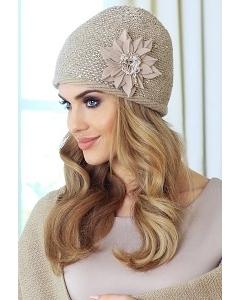 Женская шапка с пайетками Kamea Alina