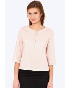 Хлопковая блузка с рукавом 3/4 Emka b 2221/ramina