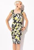 Чёрно-жёлтое платье Zaps Marta