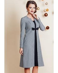 Платье с завышенной талией TopDesign Festive NB6 16