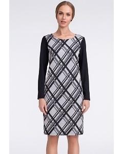 Платье в косую клетку Sunwear US205