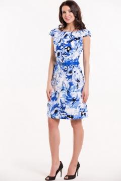 Летнее платье с ремнем Remix 7299