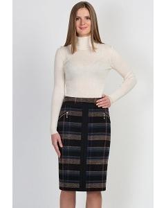 Клетчатая юбка Emka Fashion 515-fernanda