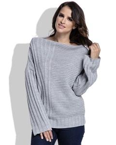 Женский свитер бежевого цвета Fimfi I212